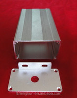 High quality aluminium electrical enclosure / instrument box /electrical cabinet for electronics made by extrusion profiles