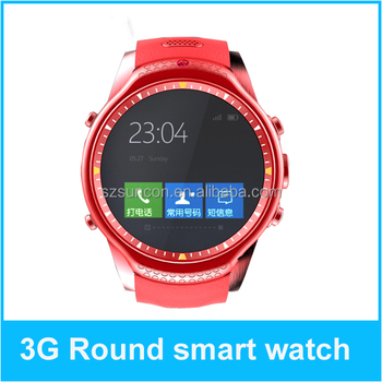 2015 best smart watch W9 3G wifi GPS waterproof Android 4.4 3g andorid mobile watch phones