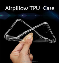 Wholesale Ultrathin 1.2mm air cushion shell adsorption buffer mobile phone case for huawei P10 Plus/Vicky