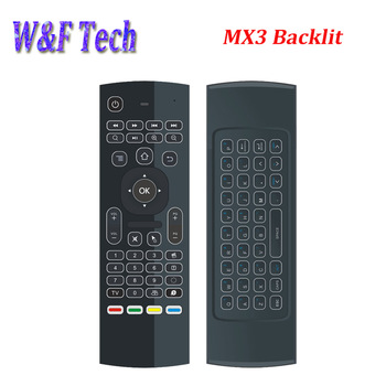 hot selling for tx3 pro mx3 backlit fly 2.4g air mouse for android tv box
