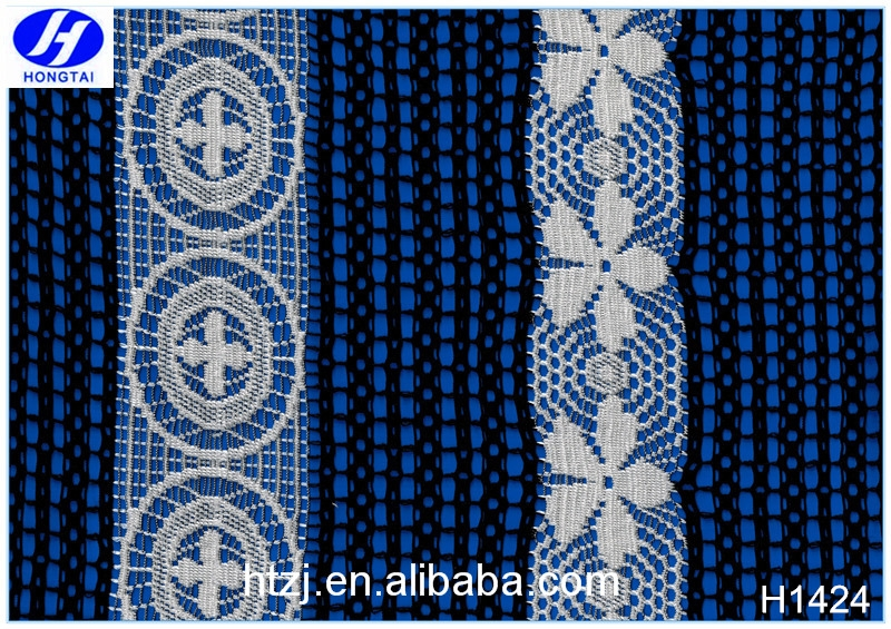 Hongtai african india new design fashionable lace fabric stores in china