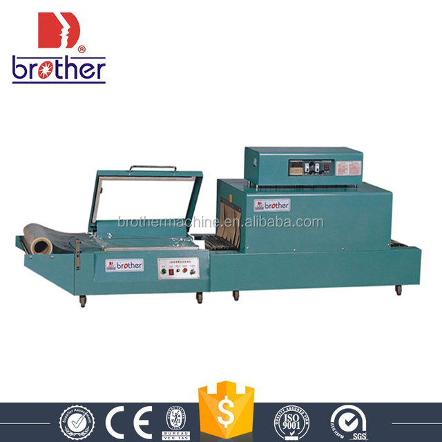 Brother packing Cheap price Manual L bar sealer heat tunnel thermal shrink wrapping machine FQL380+BSD400