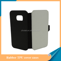 Sublimation leather flip cell phone case for Samsung Galaxy S7 Edge