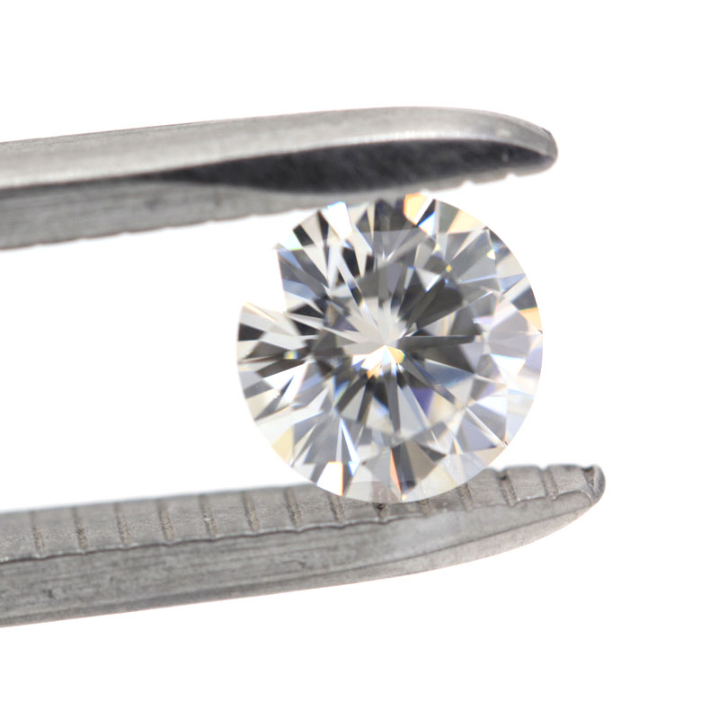 Zuanfa gems D color round brilliant cut synthetic moissanite <strong>diamond</strong>