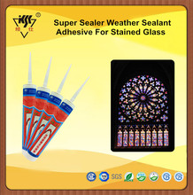 Super Sealer Weather Sealant Adhesive For Stained Glass