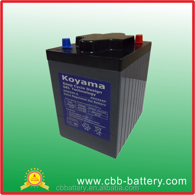 DCG225-6---6V225ah-Golf Cart Battery for Golf/Utility/Neighborhood Electric Vehicle (NEV) (DCG225-6)