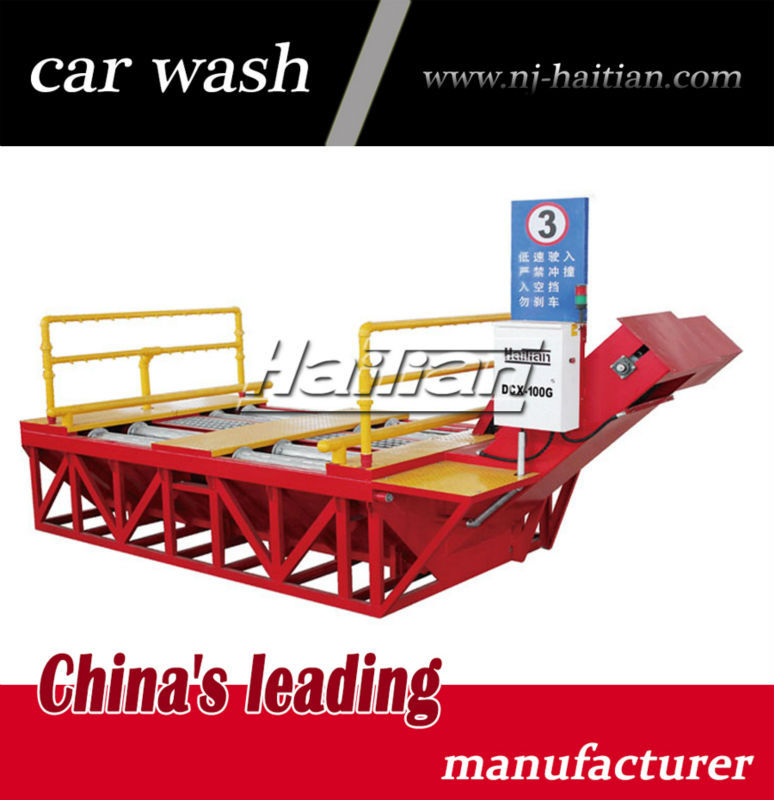 DCX-100T HAITIAN manufacturer high quality automatic truck wheel washing machine