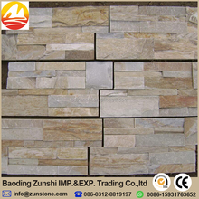 China Supply Exterior House Wall Stone Decoration For Natural Stacked Slate