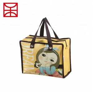 Promotional item pp woven eco friendly foldable bags
