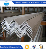 Trade Assurance ISO 9001 ASTM A36M Cold Rolled Gi Steel Angle Iron of Weight for Construction business
