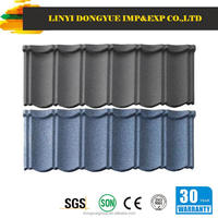 metal roof tile ridge cap/green glazed roof tiles color stone coated steel roofing tiles