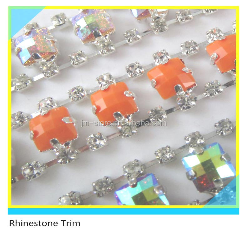 Shoe Trims and Decoration Fanulous 888 Crystal mix Acrylic Stone