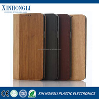 Luxurious Hot Sales Wood grain PU Leather Stand Pouch Skin Cover Case for Samsung Galaxy Note5 with ID Card Holder