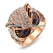 Most Popular Cat Ring in 2013 High Polished Latest Lovely Design Jewelry Ring Cheap Price