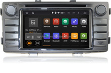 Pure Android 4.4 For TOYOTA Hilux 2012 Car DVD Radio Stereo GPS Navi 3G WIFI 1024X600