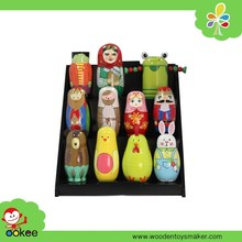Best gift for kids chinese handicraft russian nesting dolls wooden dolls