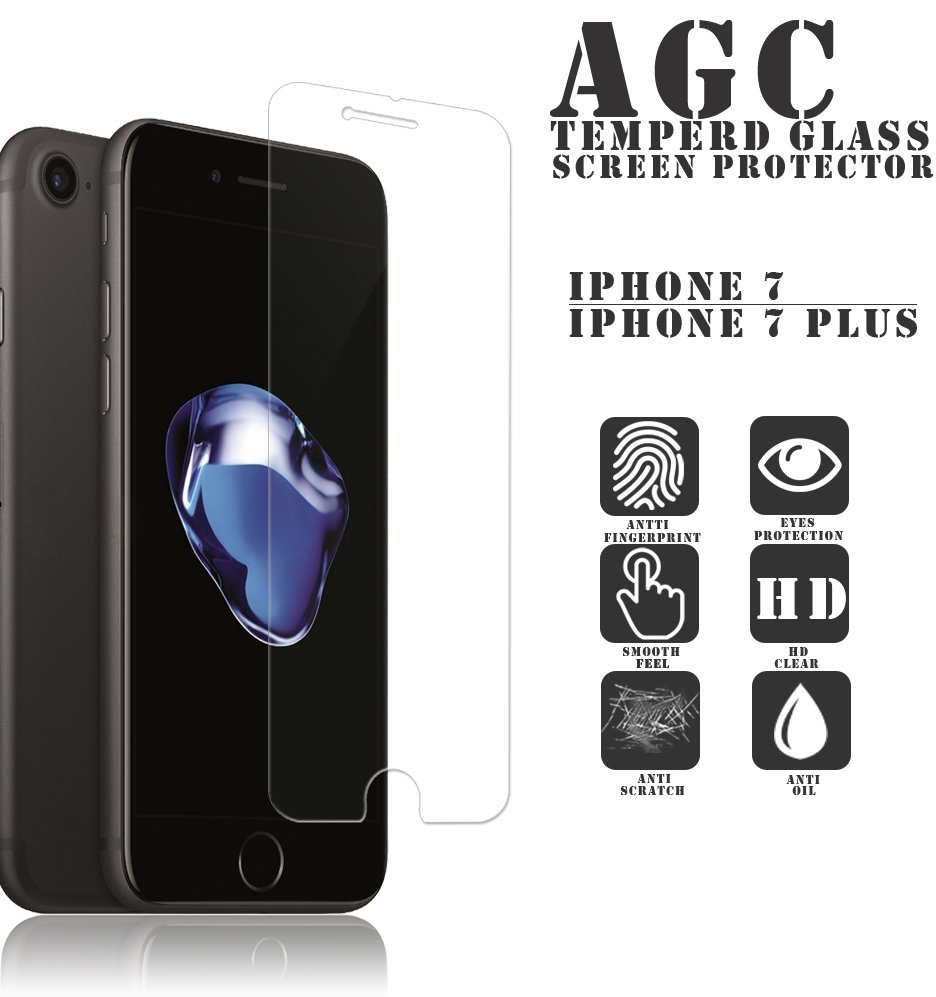 0.33mm thickness mobile phone 9H tempered glass screen protector for iPhone 7 /7 Plus /6 / 6S / Tempered Glass protector screen
