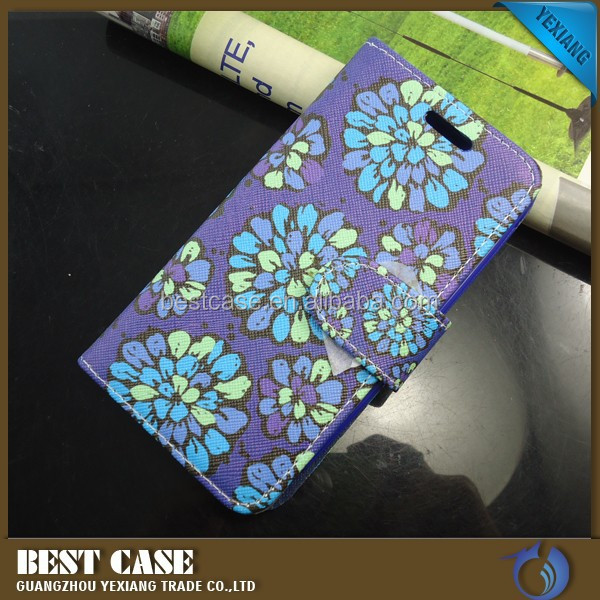 OEM design high quality leather phone cases for m4 ss 1060 flip cover