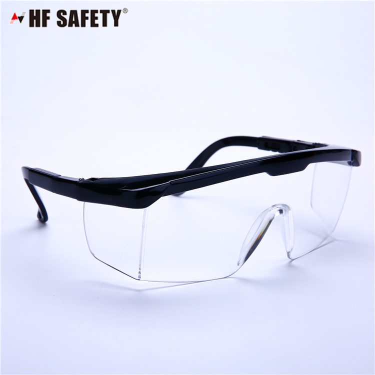 Side shield safety glasses anti fog and uv protection safety goggles