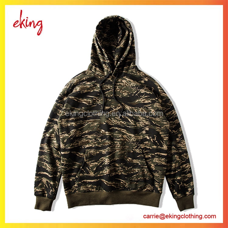 oversized plain 100% thick fleece polyester camo pullover hoodies