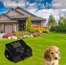 Dog Electric Fence System Safety Pet Waterproof Train Control Device Dog Training Collar Hidden Lorewin X800