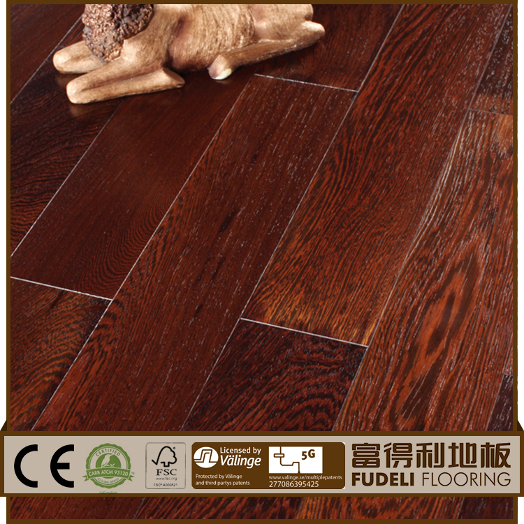 Oak Solid smooth natural solid asian teak hardwood flooring