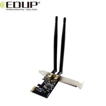 802.11AC 1200Mbps 2.4GHz/ 5GHz Dual Band Wireless Network PCI Express Card Adapter