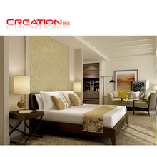 Latest environmental friendly lacquer hotel bedroom furniture made in vietnam