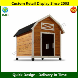 The Barn Raised Wooden Dog House YM5-1380