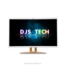 32 Inch widescreen curved display desktop computer intel i3 i5 i7 all in one