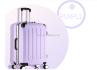 Purple Hard Case Luggage Bags