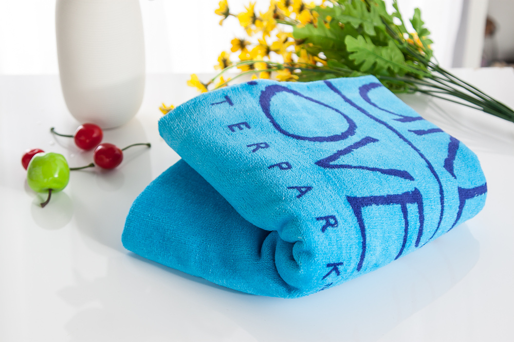 2015 New product Cooling Customized cotton Towel jacquard Towel bath Towel