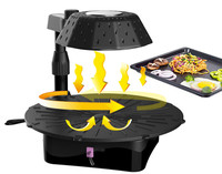 Factory sales infrared barbecue charcoal grill refractory ceramic grill