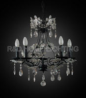 Antique Arabia crystal chandelier for living room