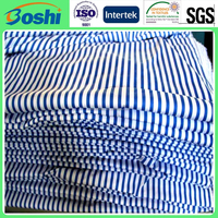 Becautifui TC stripe printed fabric for nurse clothes