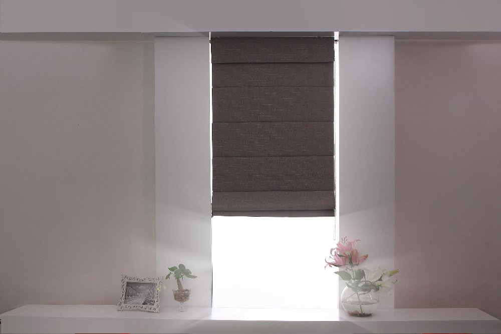 Motorized Roman Blind And Automatic Roman Blinds With