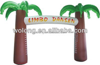 Inflatable Advertising Arch, garden wedding arch