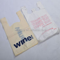 plastic bag for packing retail book