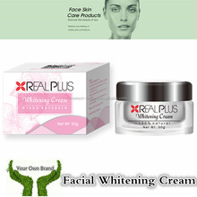 REAL PLUS private label free best facial care classic white cream