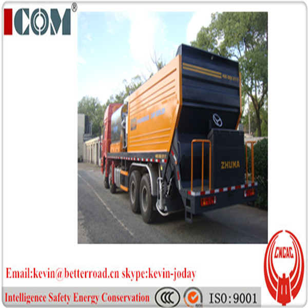 8000L Asphalt rubber Synchronous Chip Sealer