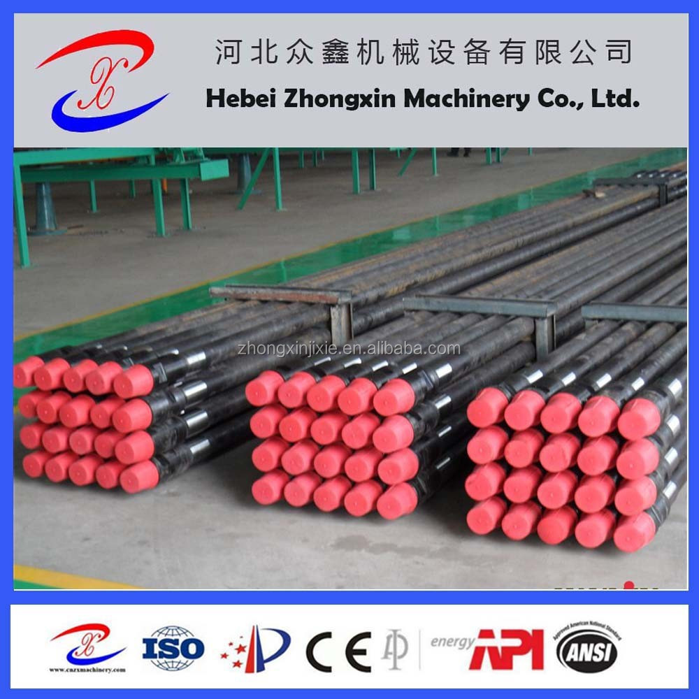 "China supplier used 4 1/2"" oil drill pipe"