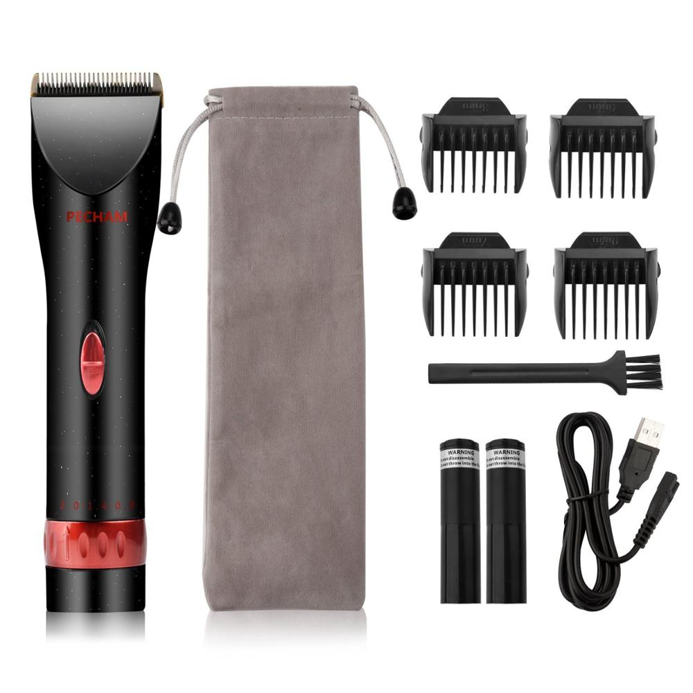 2018 HOT cheap professional automatic hair salon clipper set kit barber hair trimmer electric hair clipper