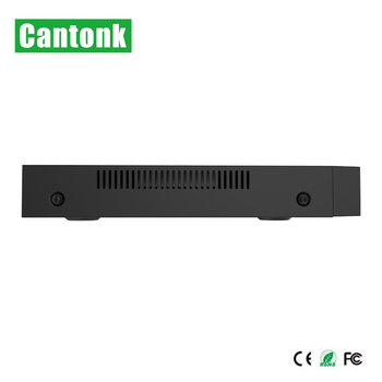 Cantonk 8ch poe NVR recorder with 2 SATA support 4k camera