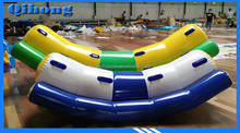 Hot sale cool inflatable surfing fiberglass material motor boat, yacht for sale