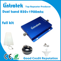850 +1900 cell phone amplifier/dual band signal amplifier/3g 4g boosters