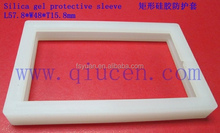 silicone rubber gasket anti shock frame for solar panel cover