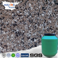 Granite looking interior textured paint designs for walls