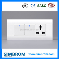 4 Gang Modular Switch Socket Electrical