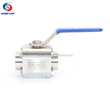 BW&SW High Pressure Female Male NPT Threaded Stainless Steel Ball Valve