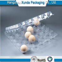 Disposable clear plastic egg tray 20 pack